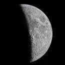 Moon. Crescent quarter. Sixth day,                                Juan B. Torre Valle