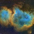 Soul Nebula narrowband,                                julianr