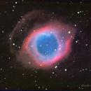 NGC 7923 Helix Nebula in LHaRGB,                                Jack Liu