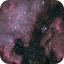 The North American and Pelican Nebulae,                                Alex Roberts