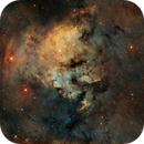 NGC7822 SHO,                                litobrit