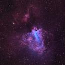 M17 NGC6618 The Omega Nebula in HOO,                                Bob Stevenson