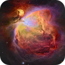 M42 (Orion Nebula) [Narrowband, Hubble Palette],                                Dean Carr