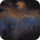 IC 2177 - Seagull Nebula - More Data,                                Crazy Owl Photography