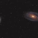 Bode's and Cigar Galaxies: M81 and M82,                                rveregin