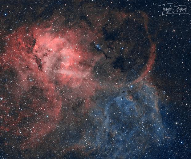The Lion Nebula (Sh2-132),                                Ivaylo Stoynov
