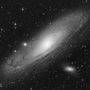 Messier 31, Andromeda Galaxy - 4 panel mosaic,                                Alexander Sorokin