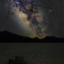 Sailing Stones and Milky Way Core,                                Nico Carver