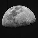 First Quarter / Waxing Gibbous Moon,                                gmvtex