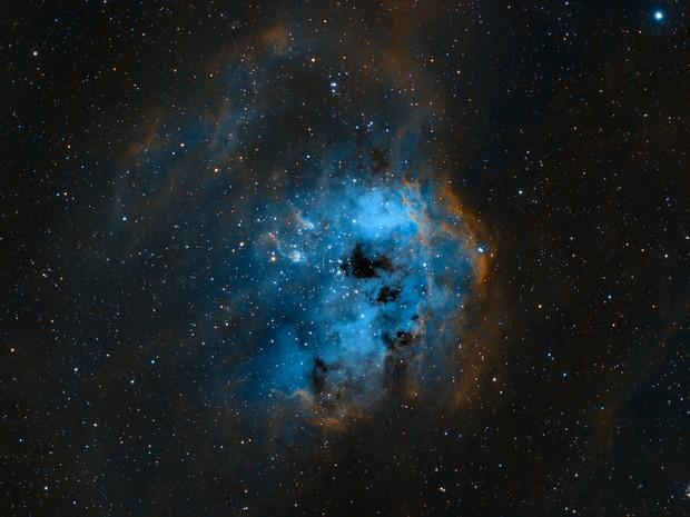 Tadpole Nebula IC410,                                Stan Smith