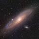 M31 Andromeda Galaxy (And) in LRGB - Short Exposure Project,                                Ben Koltenbah