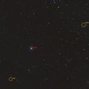 Galaxies vs Lune (annoté),                                Corine Yahia (RIGEL33)