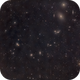 Center of the Virgo cluster (Markarian's chain, M88 and M87) using a Canon lens,                                Palmito