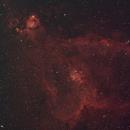 Heart Nebula (SH2-190/IC1805),                                AstroBros