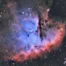 NGC 281 / Nébuleuse Pacman,                                Daniel Beaulieu