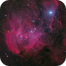 Running Chicken Nebula (IC 2944 HRGB),                                Miles Zhou