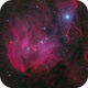 Running Chicken Nebula (IC 2944 HRGB),                                Miles Zhou