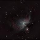 M42 La grande nébuleuse d'Orion,                                Nickzo