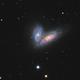 Siamese Twins galaxy. NGC4567&NGC4568 with M58,                                bawind Lin