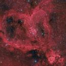 Heart and Fish Head Nebula,                                Chad Andrist
