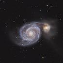 M51 and NGC 5195,                                Lee