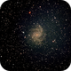 NGC 6946 Fireworks Galaxy,                                James Fletcher