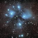 M45,                                starfield
