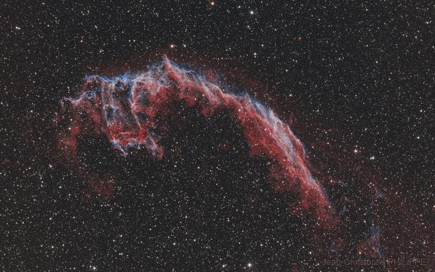 NGC6992 HOO RVB,                                Jean-Christophe PHILIPPE