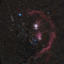 Orion Molecular Cloud Complex - 3x3 mosaic,                                Jeff