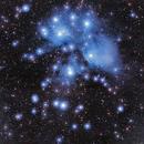 M45 - The Pleiades,                                StarSurfer Carl