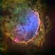 NGC 3324, Gabriella Mistral nebula,                                John Ebersole
