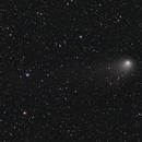 Comet C/2012 K5 (LINEAR) Evening 1st January 2013 - closeup,                                Tony Cook