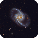 NGC 1365 and the Fornax galaxy cluster.,                                flyingairedale