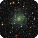 IC342, the hidden galaxy in near infrared,                                Remco Kemperman