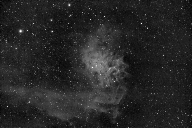 IC 405 Flaming Star Nebula,                                Alexander Todorov
