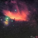 Horsehead Nebula and Flame Nebula,                                Shubhkarman Singh