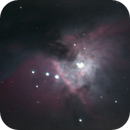 Orion Nebula with ASI174MM,                                Chappel Astro
