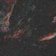 NGC6979/NGC6992 Pickering's Triangle and Eastern Veil Nebula HOO,                                Kyle Desrosier