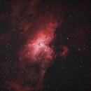 Eagle Nebula in Duo-Narrowband,                                Trevor Jones