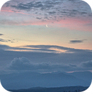 Moonrise over the Great Smoky Mountains,                                JDJ