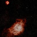 Lagoon Nebula M8 & Trifid Nebula M20,                                Leon C Salcedo