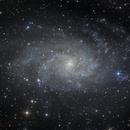 M33 in LRGB,                                MicRaWi