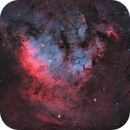 "Sh2-171 - NGC 7822 in ""Natural"" Palette,                                Alan Pham"