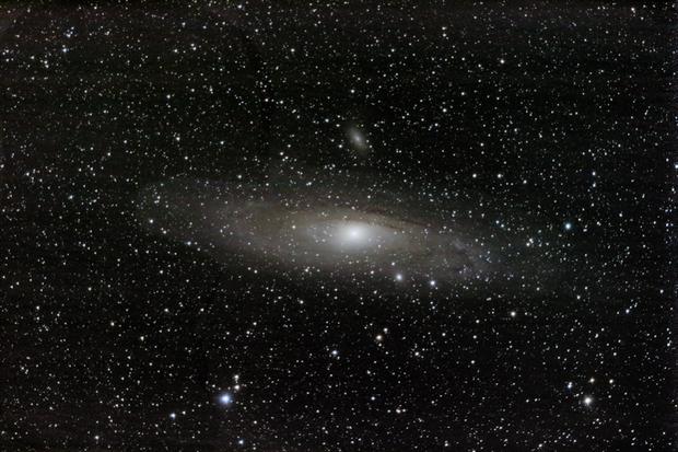 Andromeda Galaxy,                                caheaton
