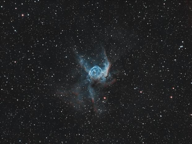 NGC2359 Thor's Helmet,                                Kesphin