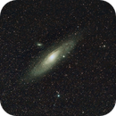M31 with 135mm,                                JoeRez