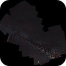 Milky Way Panorama - 60 Frames at 50mm,                                Kevin Mettler