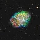 M1 - The Crab Nebula,                                lefty7283