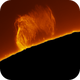 Giant Plasma Storm Yesterday (56MB file),                                Chuck's Astrophot...