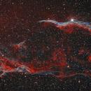 Part of the Cirrus Nebula bicolour,                                Stefan Muckenhuber